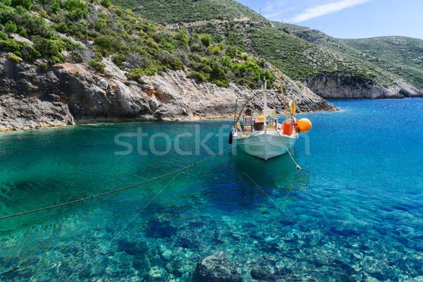 красивой острове воды подробность Сток-фото © neirfy