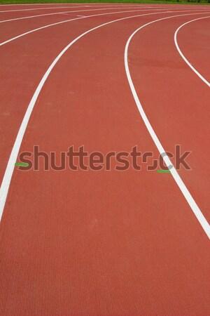 Blanche lignes course texture sport domaine Photo stock © neirfy