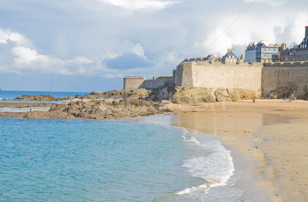 old town of  Saint Malo,Brittany, France Stock photo © neirfy