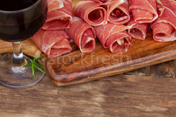 spanish tapas Stock photo © neirfy