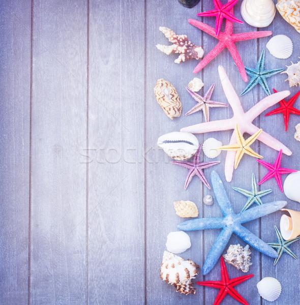 Сток-фото: Starfish · морем · снарядов · набор