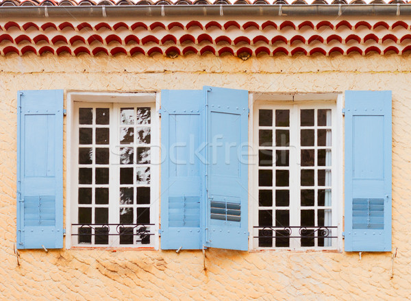 Moustiers-Sainte-Marie, France, Provence Stock photo © neirfy