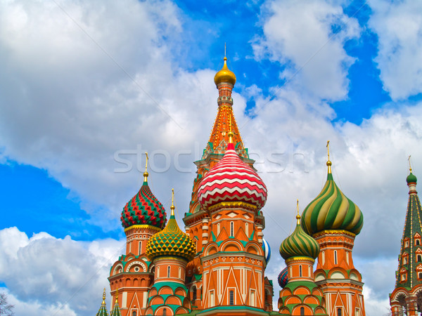 details of Basil th Blessed, Moscow, Russia Stock photo © neirfy