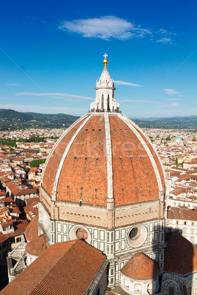 Stok fotoğraf: Katedral · kilise · Floransa · İtalya · kubbe