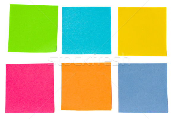 colorful sheets of paper Stock photo © neirfy