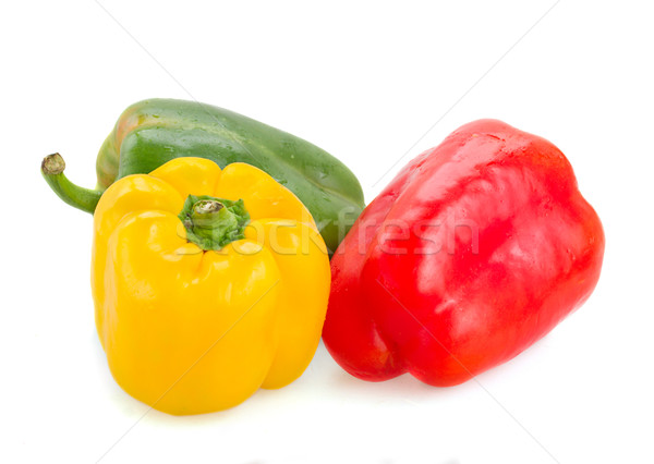 three  peppers Stock photo © neirfy