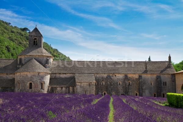 аббатство Франция лет день Сток-фото © neirfy