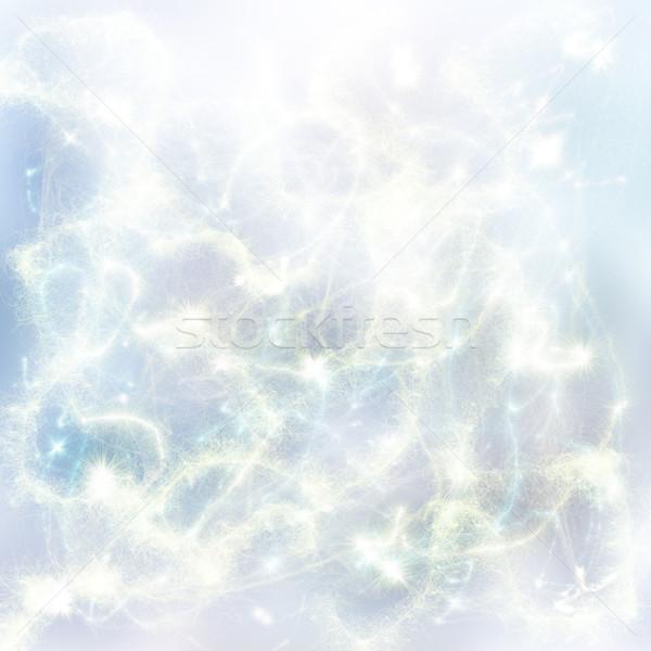 chrismas blue background Stock photo © neirfy