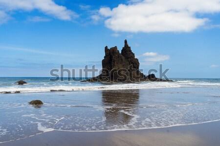 Praia tenerife ilha água mar Foto stock © neirfy