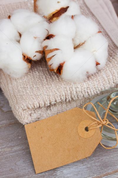 cotton spa Stock photo © neirfy