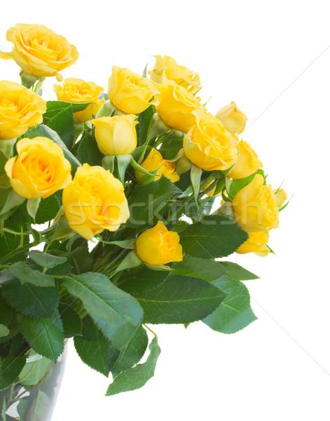 Foto d'archivio: Bouquet · fresche · rose · giallo