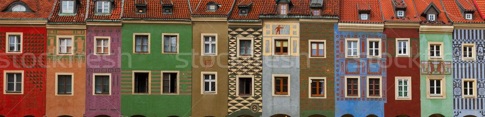 Сток-фото: средневековых · домах · центральный · рынке · квадратный · дома