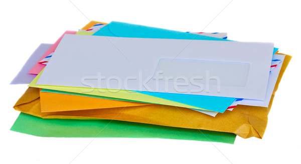 pile of mail Stock photo © neirfy