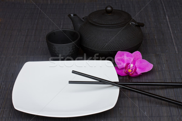asian food concept Stock photo © neirfy