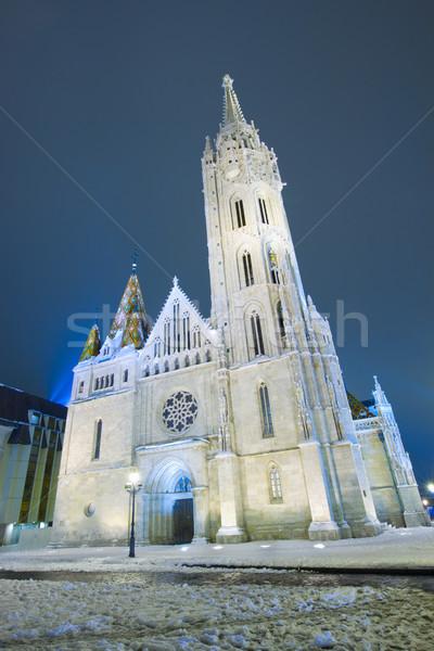 Matthias Church, Budapest Stock photo © neirfy