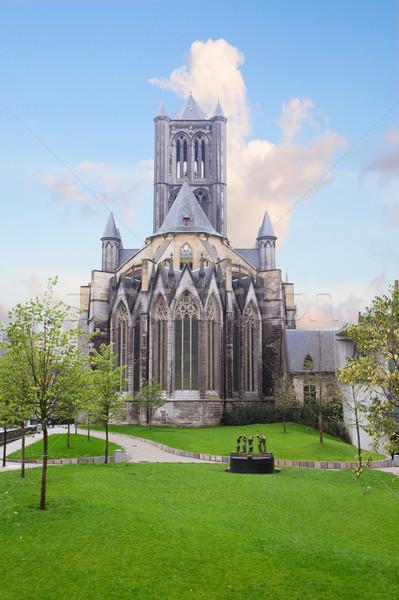 святой собора старые город Церкви путешествия Сток-фото © neirfy