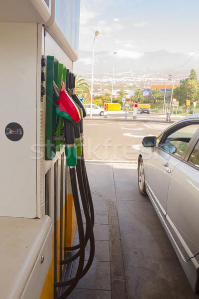 petrol station Stock photo © neirfy