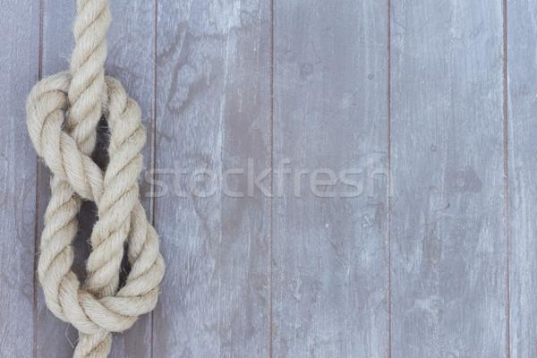 marine knot Stock photo © neirfy