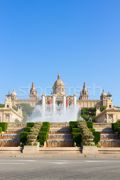 Square of Spain, Barcelona Stock photo © neirfy