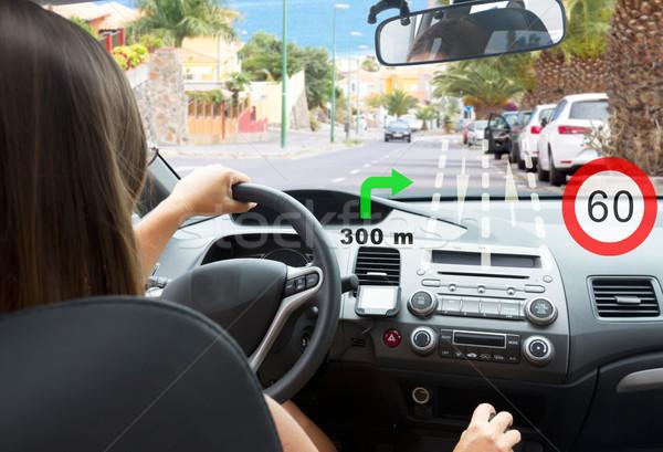 smart car concept Stock photo © neirfy