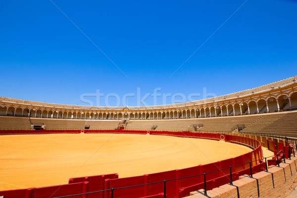 bullfight arena  in Seville, Spain Stock photo © neirfy