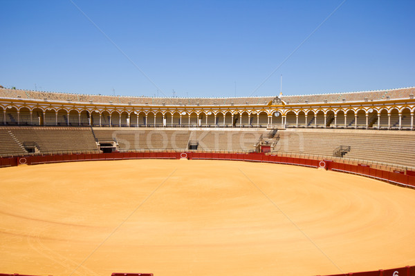 bullring arena  in Seville, Spain Stock photo © neirfy