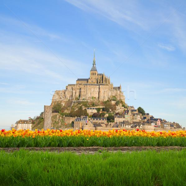 mount of Mont Saint Michel, France Stock photo © neirfy