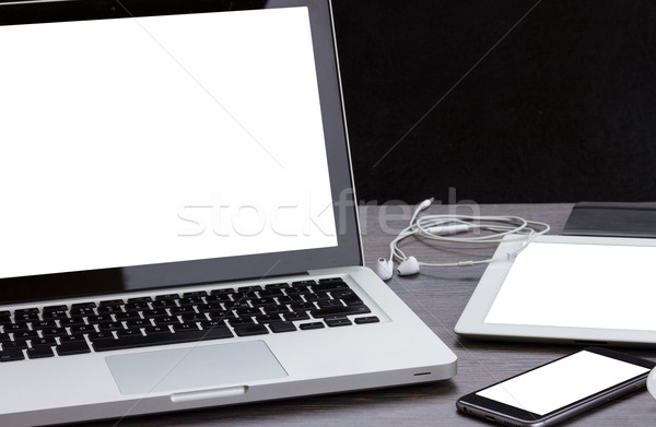 modern computer devices Stock photo © neirfy