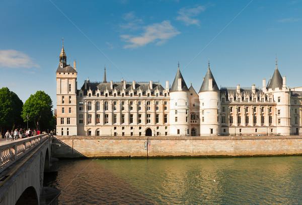 Сток-фото: Париж · Франция · королевский · дворец · тюрьмы