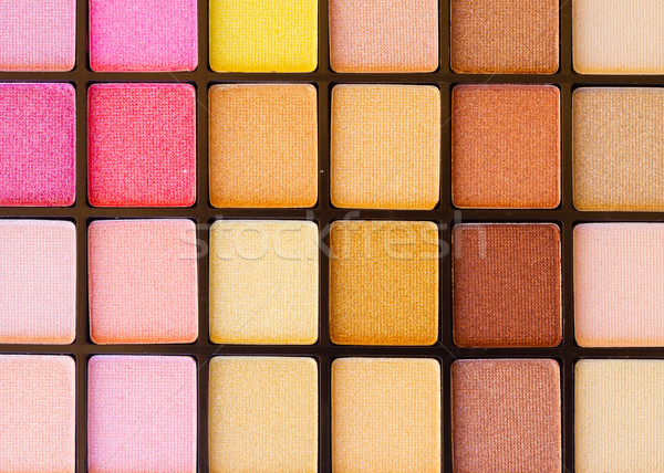 eye shadows palette Stock photo © neirfy