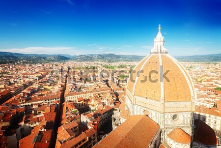 Stock fotó: Katedrális · templom · mikulás · Florence · Olaszország · óváros