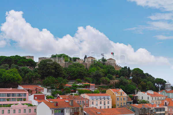 Saint George's Castle , Lisbon, Portugal Stock photo © neirfy