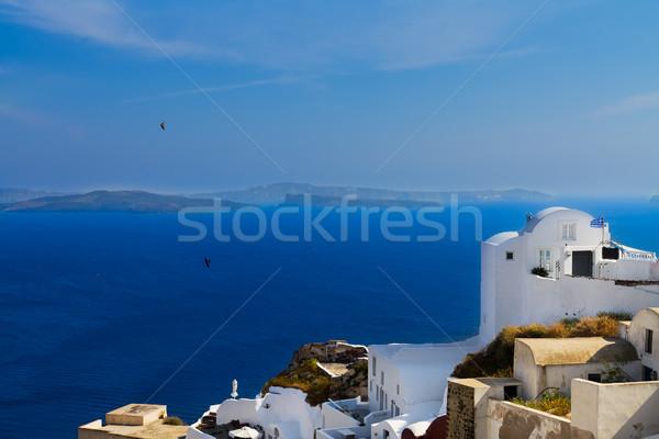 Foto stock: Belo · detalhes · santorini · ilha · Grécia · aldeia