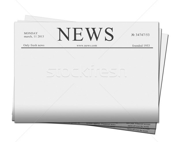 news papers Stock photo © neirfy
