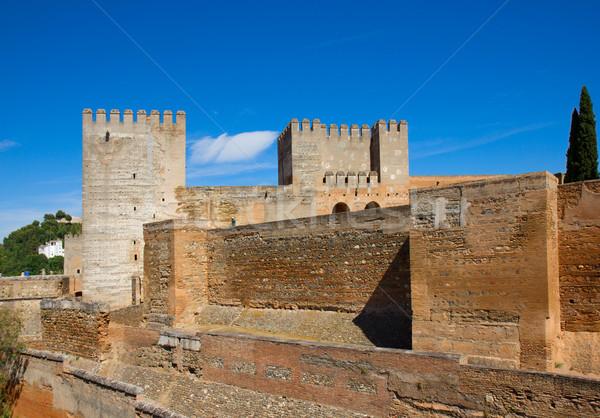 Citadel  of Alhambra, Granada, Spain Stock photo © neirfy