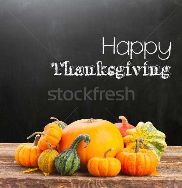 Happy thanksgiving day Stock photo © neirfy