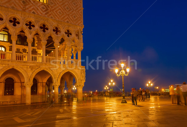 Square San Marco, Venice, Italy Stock photo © neirfy