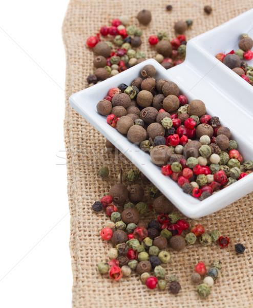 Mix of peppecorn Stock photo © neirfy