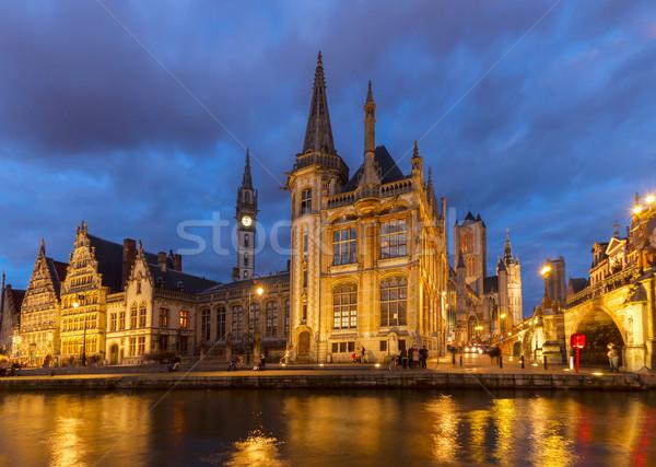 Сток-фото: старые · зданий · канал · внешний · исторический