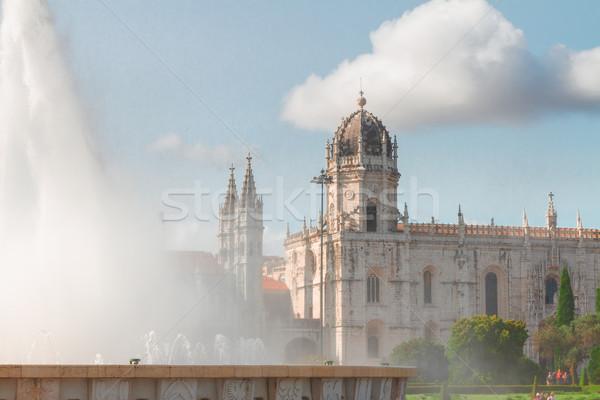 Mosteiro dos Jeronimos in Lisbon, Portugal Stock photo © neirfy