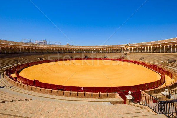 Stock photo: bullring arena  in Seville, Spain