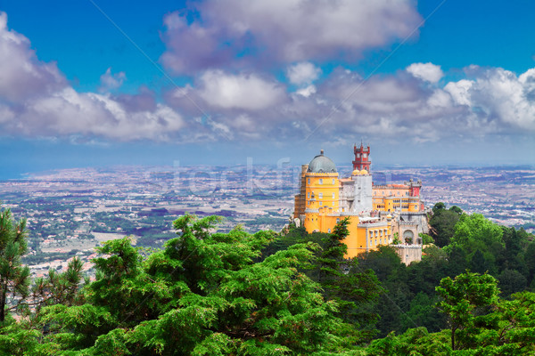 Palacio Pena, Sintra, Portugal Stock photo © neirfy