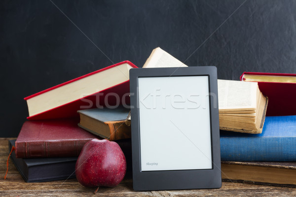 Pile of books Stock photo © neirfy