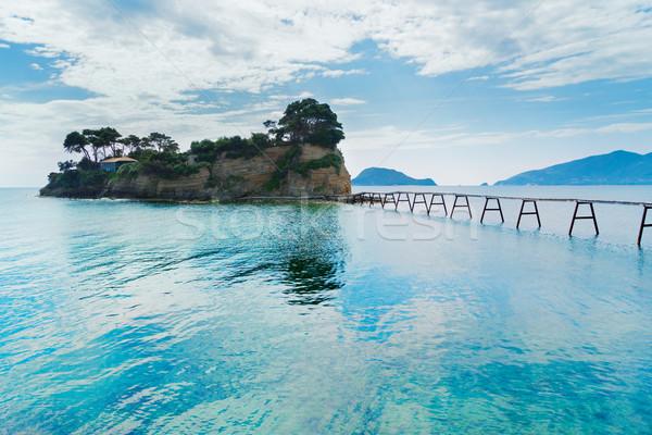 美しい 島 風景 空 光 海 ストックフォト © neirfy