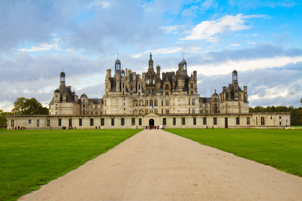 Chambord chateau, France Stock photo © neirfy