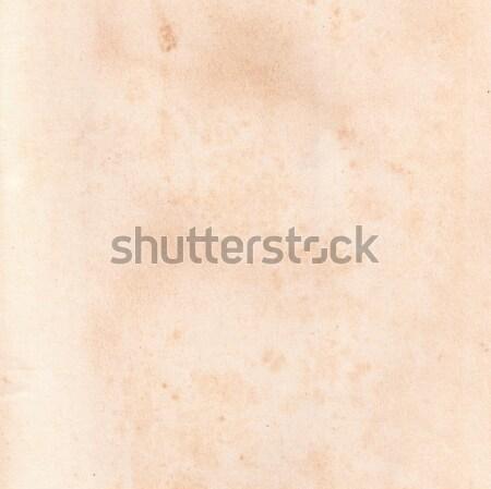 Sayfa eski kitap beyaz kâğıt soyut Stok fotoğraf © neirfy
