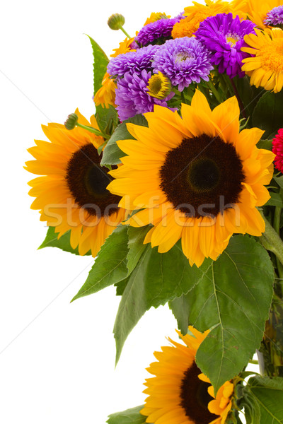 colorful posy  of autumn flowers Stock photo © neirfy