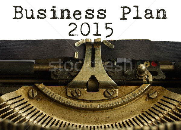 Business plan 2015  Stock photo © neirfy
