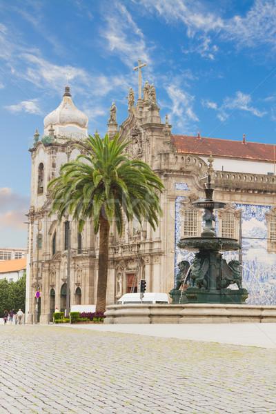 Carmelitas Church and  Carmo Church, Porto, Portugal Stock photo © neirfy