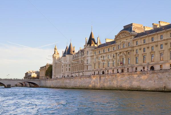 ストックフォト: ラ · パリ · フランス · ロイヤル · 宮殿 · 刑務所